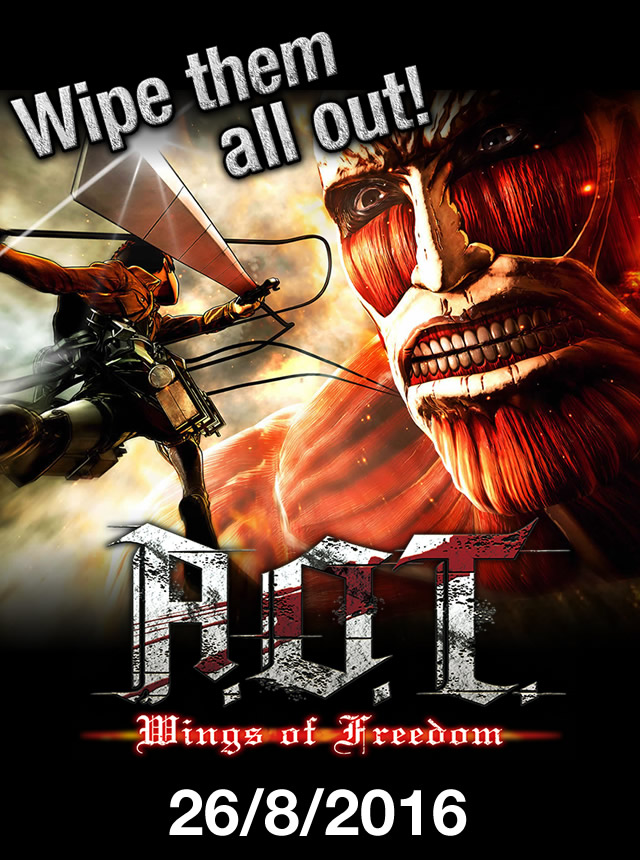 A O T  Wings of Freedom | Official Site